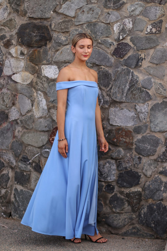 Blue Dress Formal 3