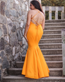 Yellow Dress Formal
